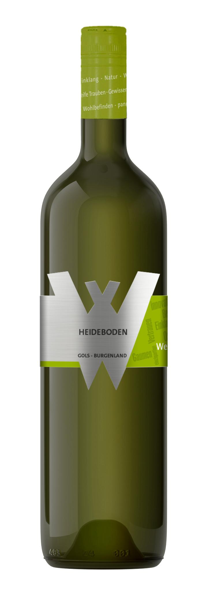 Heideboden weiß - 2019